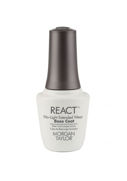 REACT Extended Wear Base Coat - Make your Lacquer Mani Last up to 10 Days with REACT Base & Top