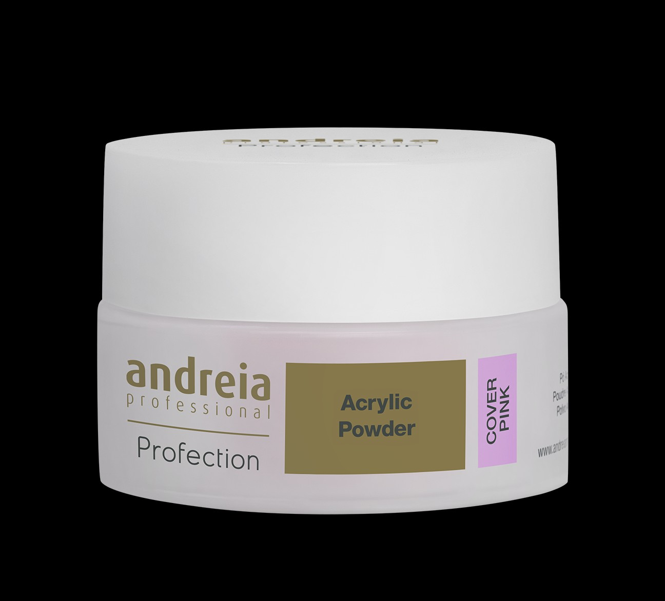 Andreia Profection Acrylic Powder 22gm - Clear, Cover Pink, Soft Pink, WHite